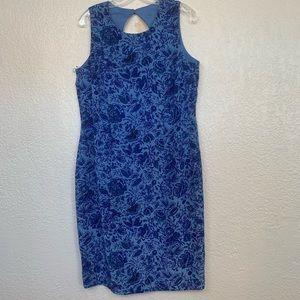 Maggy London 100% Sleeveless Dress Women's sz 14
